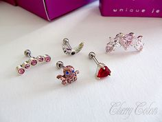 Cherry Colors - Cosmetics Heaven!: Review: Karma Se7en piercings