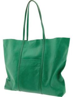 Paige pinking shears tote | Banana Republic  LaLaLove this fun pop of color