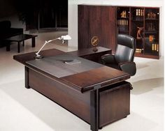 Best Executive Office Desk Executive Office Desk Furniture Home Design Ideas - Furniture is a crucial part of your workplace. Without tables, chairs and al Rustic Office Desk, Office Table And Chairs, Cool Office Desk, Office Table Design, Office Furniture Design, Home Office Desks, Desk Chairs, Design Desk, Furniture Ideas