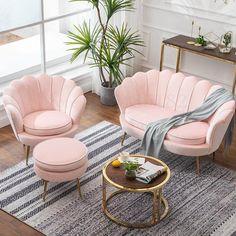 Bedroom Sofa, Living Room Sofa, Living Room Decor, Loveseat Sofa, Sofa Set, Chesterfield Sofa, Dressing Chair, Small Sofa, My New Room