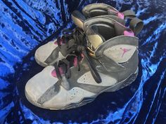 brand new a4285 9ec60 Nike Air Jordan Retro 7 VII Bordeaux Black Graphite 304775-034 Youth Size 3