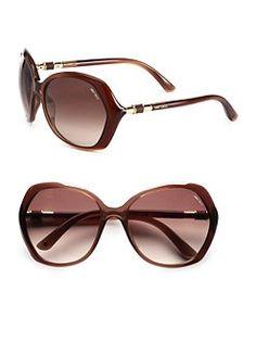 Jimmy Choo - Glam Plastic Sunglasses