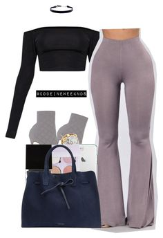 """1/1/17 // HAPPY NEW YEAR "" by codeineweeknds ❤ liked on Polyvore featuring Gianvito Rossi, Tory Burch, Anastasia Beverly Hills, Witchery, Mansur Gavriel and DKNY"