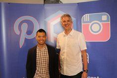 Wes and Mark, VP of Marketing at Ritani