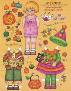Mary Engelbreit Paper Doll Ann Estelle Vol Nine No Six Oct Nov 2005 | eBay