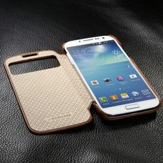 Executive Folio Case for Galaxy S4_Jisoncase