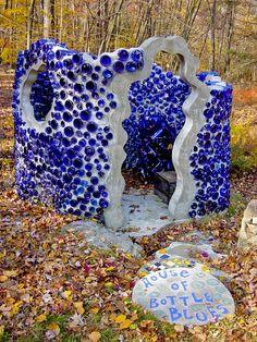 blue bottle house