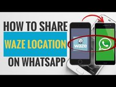 Here we are going to show you the step-by-step of how you can share any location with your friends or families using Waze and WhatsApp.