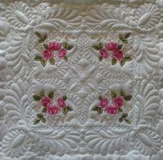 English Rose Quilt Blocks