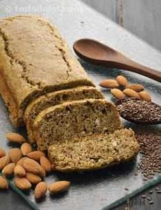 How to ready marvelous Almond Flax Bread with Eggs, Gluten Free recipeCook Connect - Passion - Love - Food: How to ready marvelous Almond Flax Bread with Eggs, Gluten Free recipe Diabetic Breakfast Recipes, Low Carb Breakfast, Snack Recipes, Dessert Recipes, Healthy Recipes, Salad Recipes, Dinner Recipes, Indian Vegetable Recipes, Indian Food Recipes
