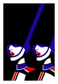 L'illustratrice française Malika Favre expose les oeuvres réalisées pour son projet nommé Le Crazy où elle met en vedette les danseuses de l'emblématique c