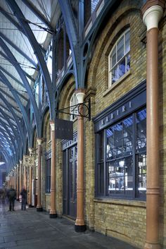 Covent Garden, London. One of the most creative and inspiring places I've ever been!