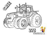 Tractor Coloring Page