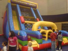 inflatable games rentals grand rapids Michigan and west Michigan full service
