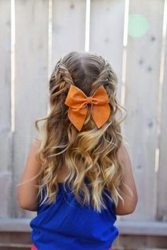 peinados-para-ninas-con-lazo