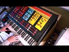Having fun with EMS Polysynthi.  All audio copyright by aurex. Short reference to the Blade Runner theme.