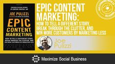"EPIC CONTENT WRITING"" one of the books listed in the ""22 Best Social Media Books of 2013 and 2014 Back to School Reading List"" by Neil Schaffer"