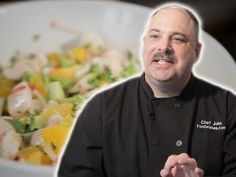 The Man, The Myth - the chef extraordinaire! Meet Chef John Mitzewicz. #FoodWishes