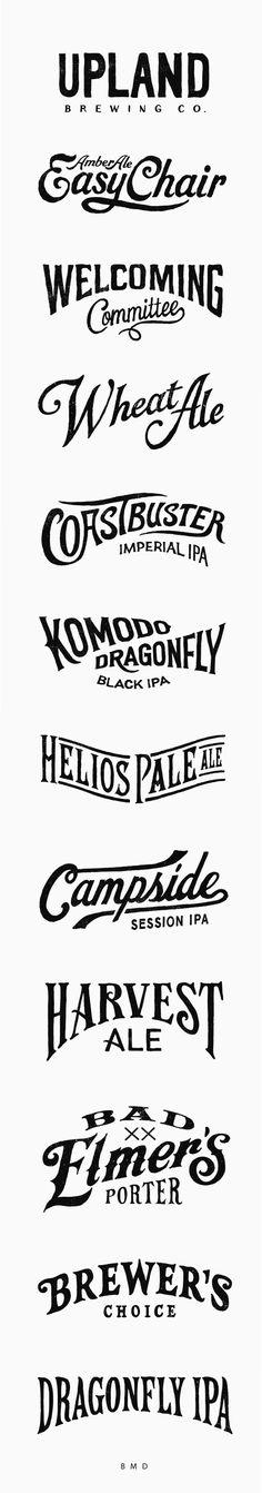 Upland Brewing logo / BMD Design