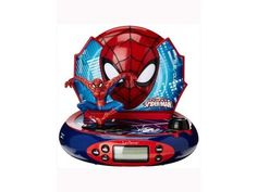 Marvel by Lexibook Alarm Clocks & Clock Radios Furniture & DIY Radio Alarm Clock, Iron Man, Marvel, Superhero, Ebay, Fictional Characters, Art, Products, Art Background