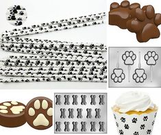 Paw Print baking accessories - Confectionately Yours Paw Patrol Party Supplies, Paw Patrol Birthday, Baking Accessories, Birthday Party Themes, Boy Or Girl