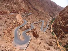 Atlas Mountains Road, Morocco
