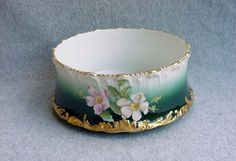 Limoges Hand Painted Bowl Signed T&V France by Kissisjustakiss