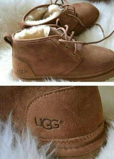 Well they're Uggs just bit boots but they're cool