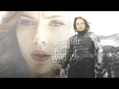 winter soldier & black widow | your whole world is black