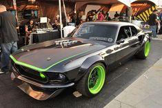 Vaughn Gittin Jr's RTR-X Mustang