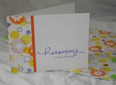 OSW Happy Spots using Stampin Up Seeing Spots