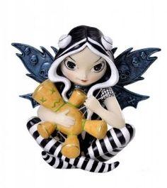 Fairy~Fairy Voodoo By Jasmine Becket Griffith 12cm~Folio Gothic Hippy NEM6667