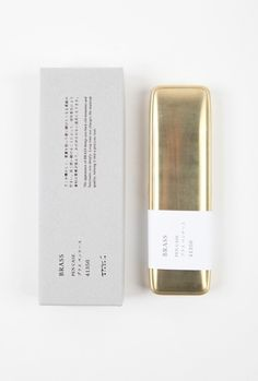 Creative Packaging, Brass, Gold, and Package image ideas & inspiration on Designspiration Print Packaging, Packaging Design, Branding Design, Product Packaging, Corporate Design, Logo Design, Graphic Design Studio, Web Design, Design Package