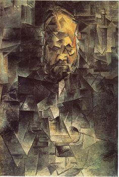 Pablo Picasso - Portrait of Ambroise Vollard 1910