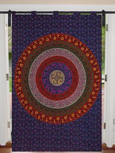 Cotton Curtains Indian Wall Hangings Mandala Ombre Door Cover Tapestry Hippie Boho Twin Dorm Decor Bed Room Divider Curtains Valances Cotton Curtains, Cotton Bedding, Cotton Fabric, Mandala Curtains, Bohemian Quilt, Hippie Bedding, Indian Quilt, Coverlet Bedding, Room Divider Curtain
