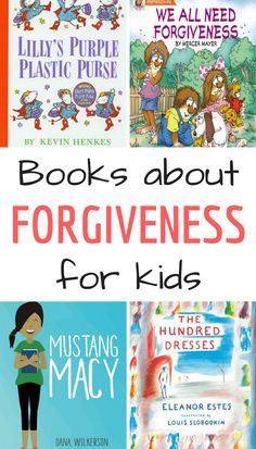 This list of books about forgiveness for kids contains picture books for younger kids as well as fiction books for middle-grade readers. While many books contain an element of forgiving others, these particular books place a primary focus on the value of forgiveness. #forgiveness #childrensbooks #kids #charactereducation #values #virtues #parenting #booksforkids
