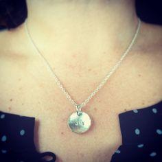 Silver joy necklace