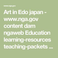 www.gov content dam ngaweb Education learning-resources lessons-activities elements-of-art color-worksheet. Research Publications, Japanese Drawings, Japanese Art, Art Articles, Elements Of Art, Art Classroom, Graphic Design Posters, Learning Resources, Art Education