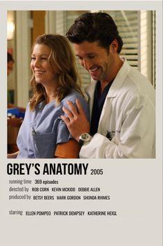 Greys Anatomy Derek, Greys Anatomy Funny, Greys Anatomy Cast, Grey Anatomy Quotes, Greys Anatomy Episodes, Greys Anatomy Characters, Film Polaroid, Iconic Movie Posters, Iconic Movies