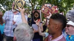 UK:: Man reveals that the koran does, in fact, have many versions that disagree with each other--moslems become angry!