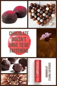 Younique Lip Bonbons! Who says Chocolate needs to be fattening? But it can moisturizer your lips & tint them at the same time!! Check out all 5 Flavors & Shades from Younique!  www.youniqueproducts.com/nicoledemalia