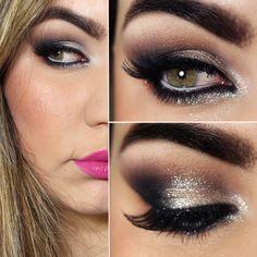 Tutorial – maquiagem com brilho para festas e noivas