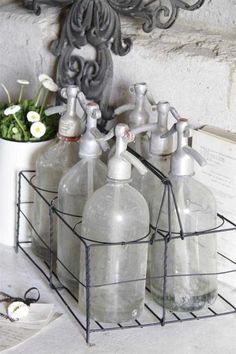 Nice rack for siphons from Jeanne d'Arc Living