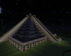 Giant Aztec style pyramid - Screenshots - Show Your Creation - Minecraft Forum Minecraft Pyramid, Minecraft Structures, Mine Minecraft, Minecraft City, Amazing Minecraft, Minecraft Blueprints, Minecraft Buildings, Minecraft Floor Designs, Minecraft Projects