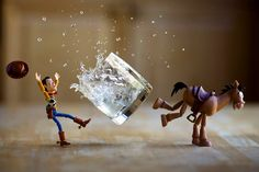 """I'm amazed by the art talented photographers can make with toys, and one of such photographers is Mitchel Wu. He creates """"Toy Stories"""" using the toys from the popular Pixar's franchise. His photos show action frozen in time, but he doesn't add the objects in Photoshop. Everything you see is created in the scene and …"""