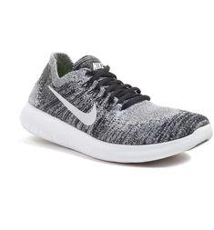 Main Image - Nike Free Run Flyknit 2 Running Shoe (Women) Running Shoes Nike, Nike Shoes, Sneakers Nike, Nike Footwear, Fitness Style, Athleisure, Image Nike, Nike Free Run Flyknit, Black And White Nikes