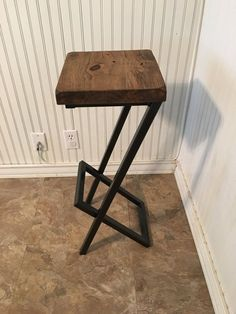 Custom bar stool cool bar stool barstool chair di AlexMetalArt