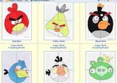 HoJos Teaching Adventures: Amazing FREE Angry Birds Coordinate Graphing Puzzles