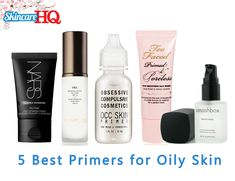 5 Best Primers For Oily Skin  My best tip for summer is to use a primer! No more makeup melting off the face and that flawless effect just goes on and on and on :)