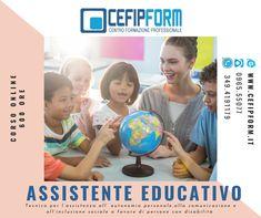 Corso Assistente Educativo Professionale Online Qualifica Valida e Riconosciuta in Tutta Italia ed in Europa E Learning, Sports, Europe, Italy, Hs Sports, Sport